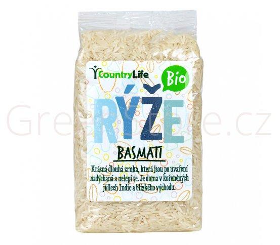 Rýže basmati 500g BIO Country Life