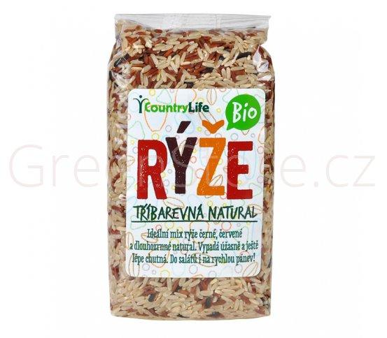 Rýže tříbarevná natural 500g BIO Country Life