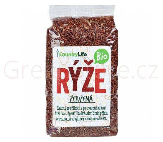 Rýže červená natural 500g BIO Country Life