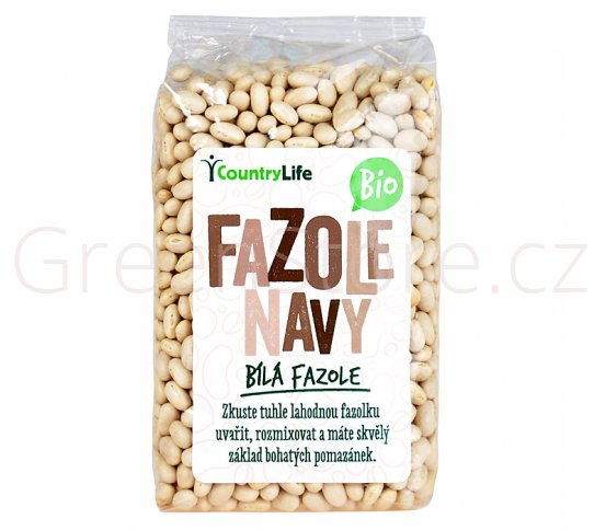 Fazole navy 500g BIO Country Life