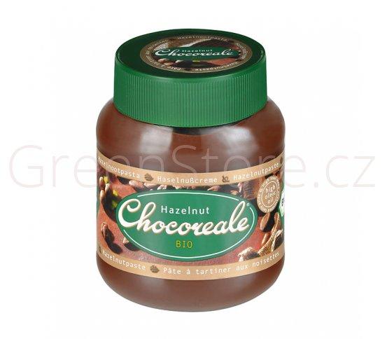 Pomazánka čokoládovo-lísková 350g BIO CHOCOREALE
