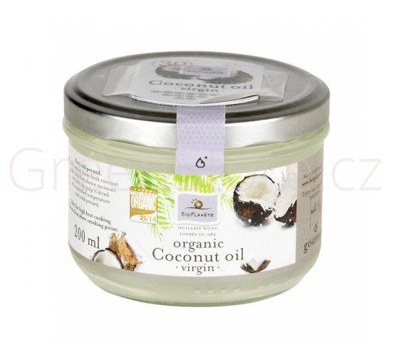Olej kokosový 200ml BIO BIOPLANETE