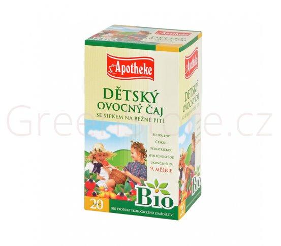 Čaj Dětský ovocný se šípkem 40g BIO MEDIATE