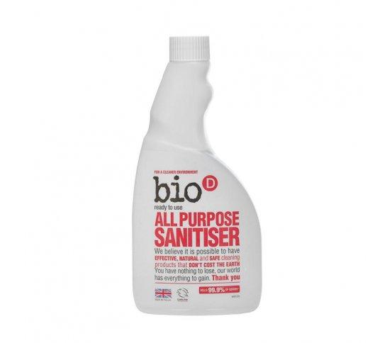 Bio-D Univerzální čistič s dezinfekcí - náhradní náplň 500ml