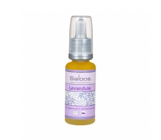BIO regenerační obličejový olej Levandule 20ml Saloos