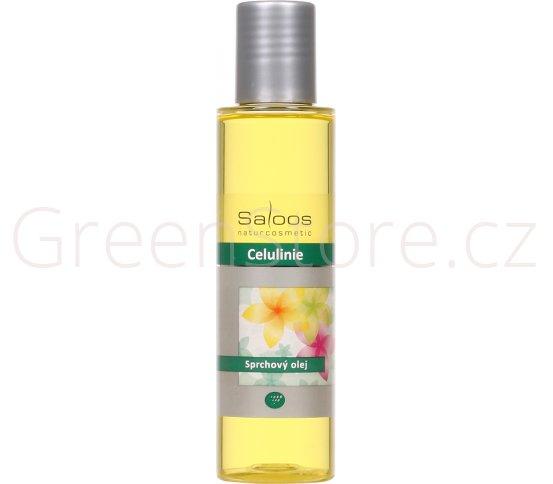Sprchový olej Celulinie 200ml Saloos - DOPRODEJ