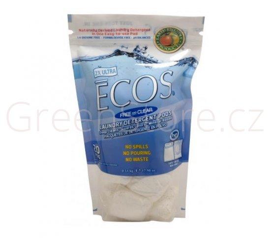 Polštářky na praní Ecos 2v1 20ks