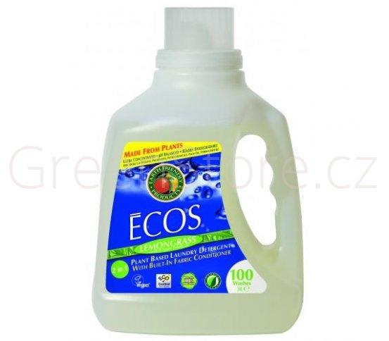 Prací gel Ecos 2v1 Citronová tráva 3l - 100 praní