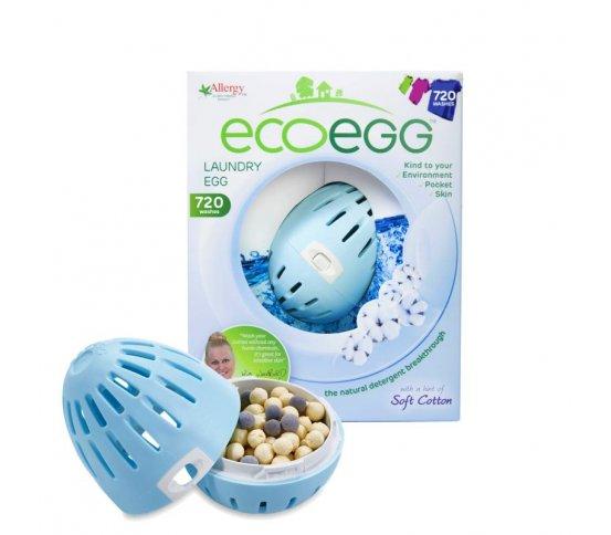 EcoEgg Vajíčko na praní Svěží bavlna - 720 praní