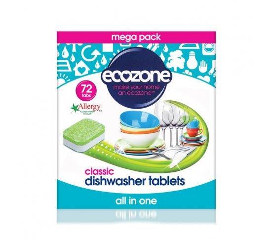 Ecozone Tablety do myčky Classic - 72ks