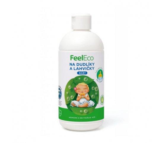Feel Eco Baby Prostředek na mytí dudlíků a lahviček 500ml