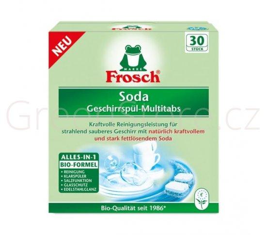 Frosch Tablety do myčky se sodou s bio formulí 30ks