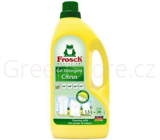 Frosch Gel na praní bílého prádla citrus 1,5l