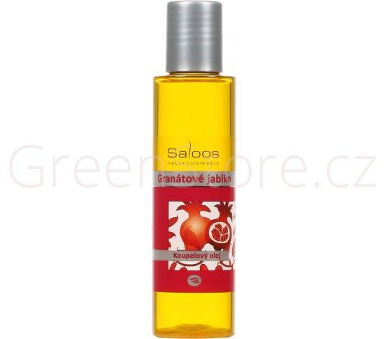 Koupelový olej Granátové jablko 200ml Saloos