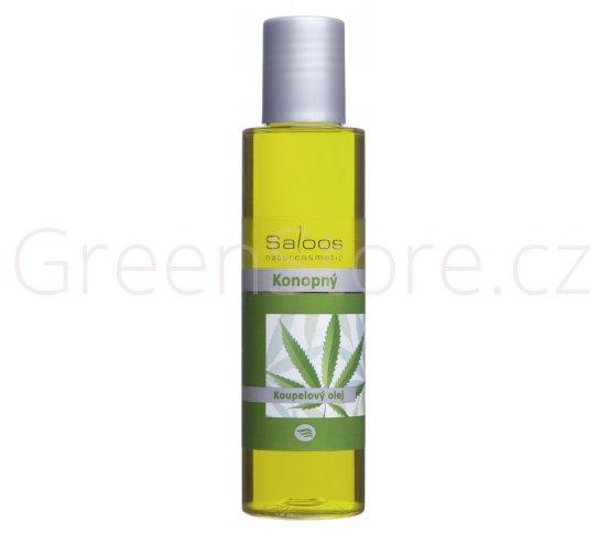 Koupelový olej Konopný 250ml Saloos