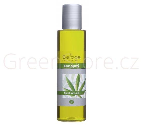 Sprchový olej Konopný 200ml Saloos