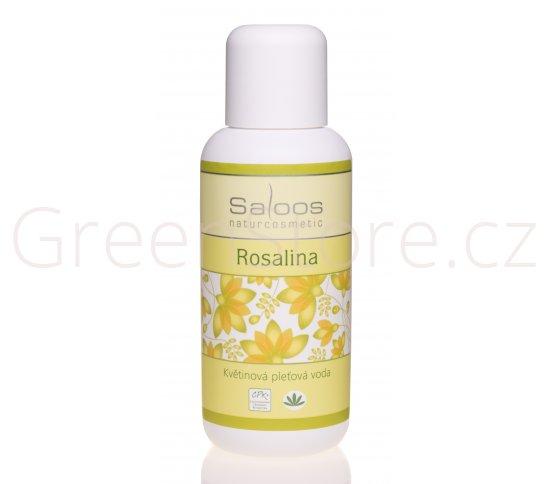 Květinová pleťová voda Rosalina 100ml Saloos