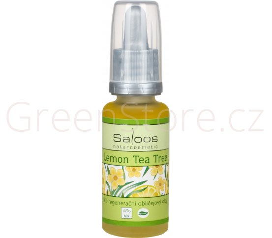 BIO regenerační obličejový olej Lemon Tea Tree 100ml Saloos
