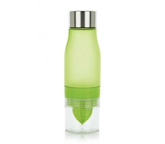 Loooqs Tritanová láhev na citrusy 650ml zelená