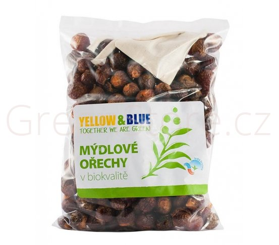 BIO Mýdlové ořechy Pods 500g Yellow & Blue