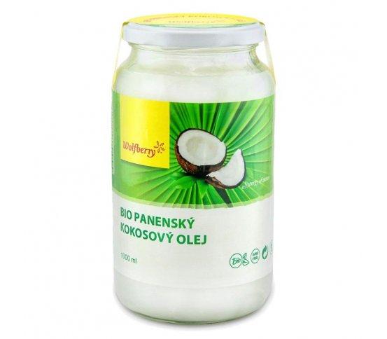 BIO Panenský kokosový olej 1000ml Wolfberry