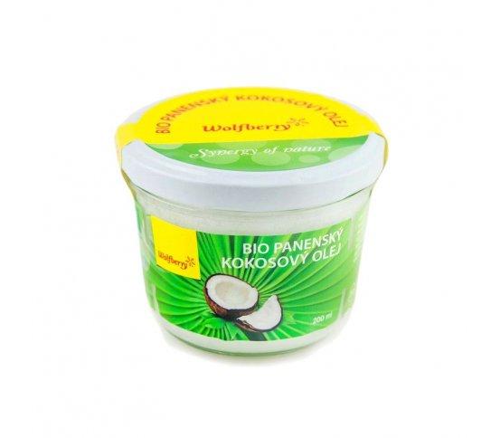 BIO Panenský kokosový olej 200ml Wolfberry