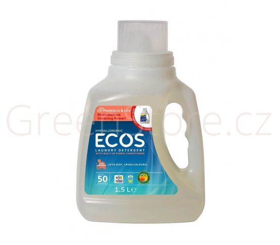 Prací gel Ecos 2v1 Magnolie a lilie 1,5l - 50 praní Earth Friendly