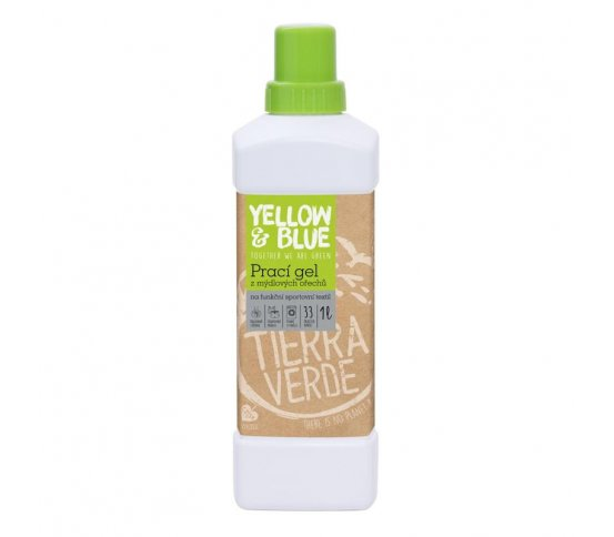 Prací gel na funkční prádlo 1l Yellow & Blue