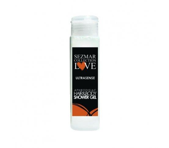 Přírodní intimní sprchový gel s afrodiziaky ultrasense 50ml Hristina