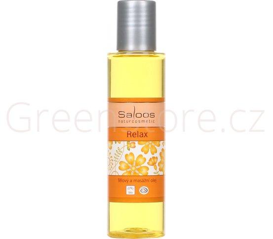 BIO tělový a masážní olej Relax 125ml Saloos