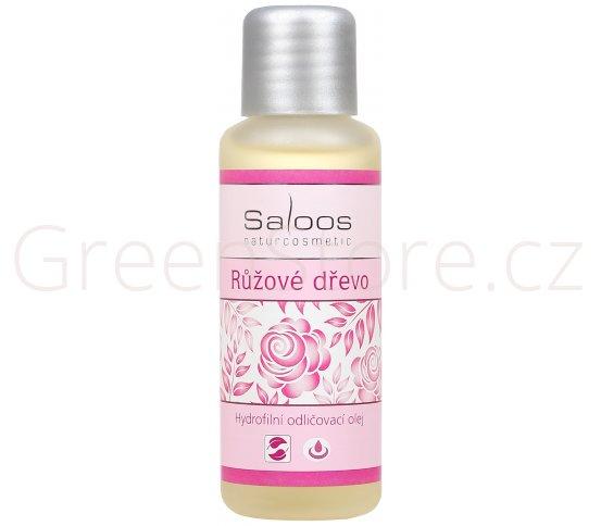 Hydrofilní odličovací olej Růžové dřevo 250ml Saloos