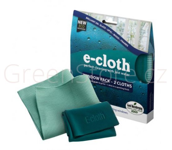 Sada hadříků na okna - 2ks E-cloth