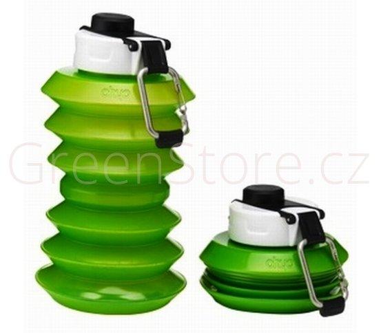 Skládací lahev Ohyo 1000ml - zelená - DOPRODEJ!