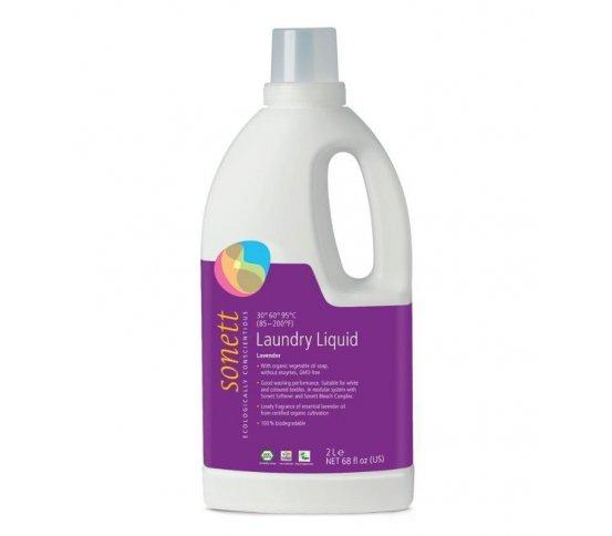 Sonett Prací gel na bílé a barevné prádlo - levandule 2l