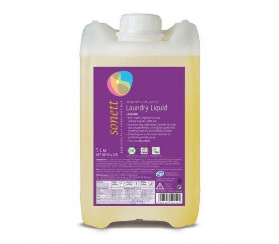 Sonett Prací gel na bílé a barevné prádlo - levandule 5l