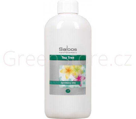 Sprchový olej Tea Tree 500ml Saloos