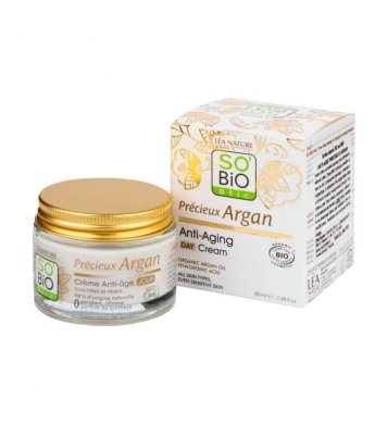 BIO Krém denní Anti-age Argan 50ml SO´BIO