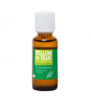 Eukalyptová silice 30ml Yellow & Blue