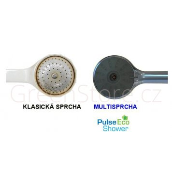 Pulse eco shower úspora vody