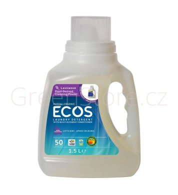 Prací gel Ecos 2v1 Levandule 1,5l - 50 praní Earth Friendly