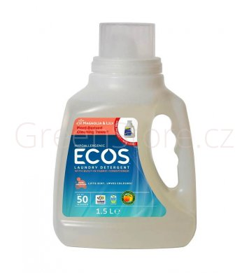 Prací gel Ecos 2v1 Magnolie a lilie 1,5l - 50 praní Earth Friendly