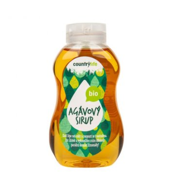 Sirup agávový 250ml BIO Country Life
