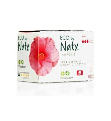 Tampony super 18ks Naty Nature