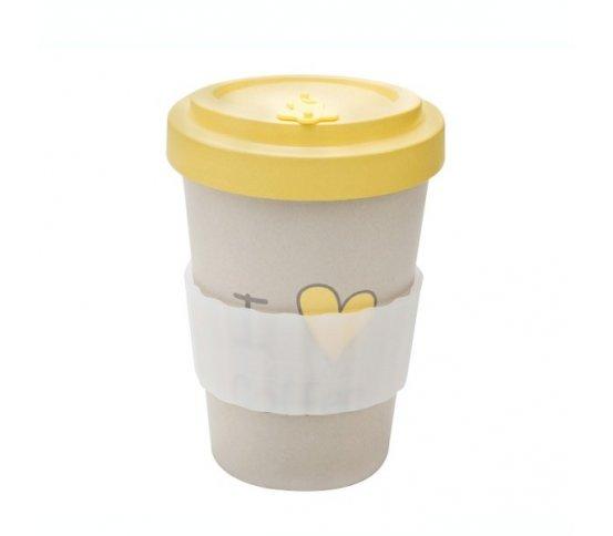 Woodway Kelímek na kávu z bambusu 400ml - I love coffee