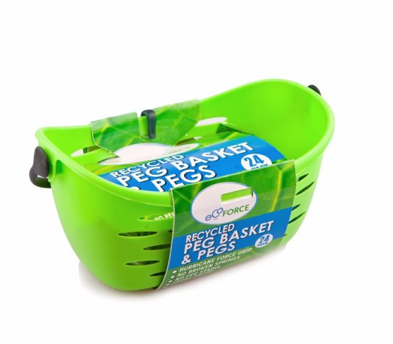 EKO závěsný košík na prádlo s kolíčky 24ks EcoForce