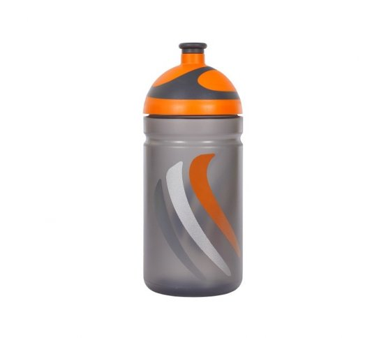 Zdravá lahev Bike 2K19 - oranžová 0,5l R&B Mědílek + špuntík zdarma