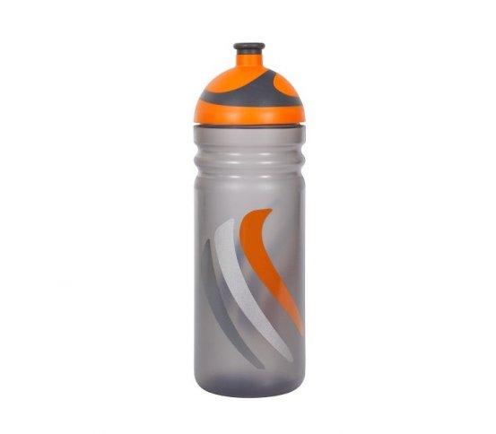 Zdravá lahev Bike 2K19 - oranžová 0,7l R&B Mědílek + špuntík zdarma