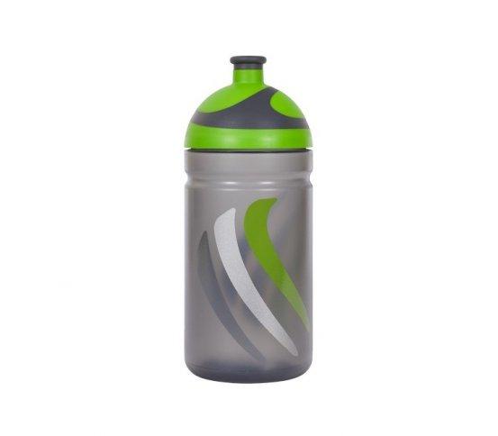 Zdravá lahev Bike 2K19 - zelená 0,5l R&B Mědílek + špuntík zdarma