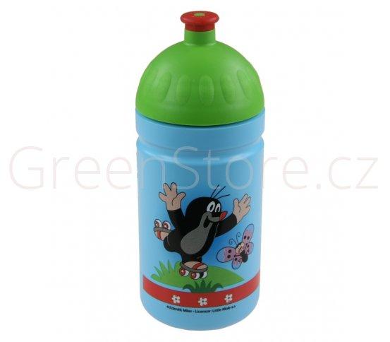 Zdravá lahev 0,5l Krteček - modrá